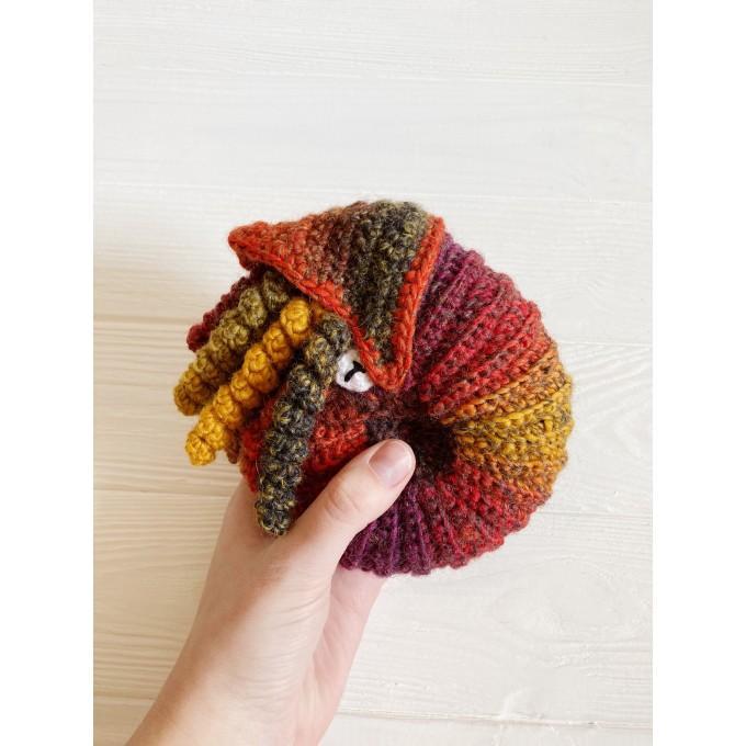 Crochet ammonite