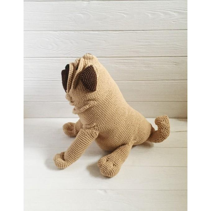 Amigurumi pug dog big