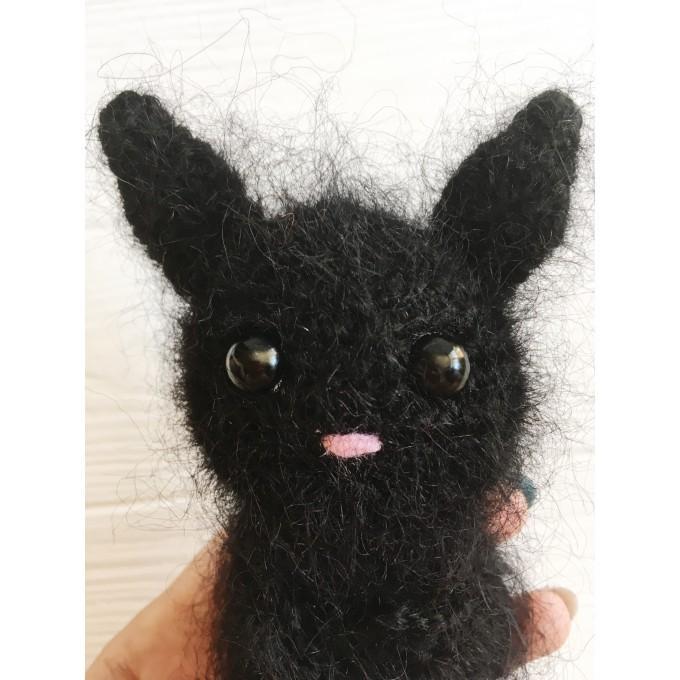 Amigurumi fluffy bat