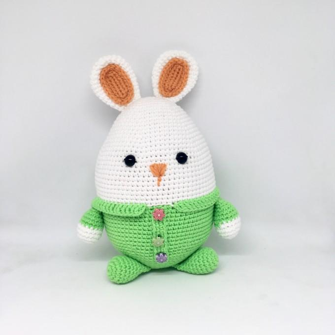 Crochet Easter bunny