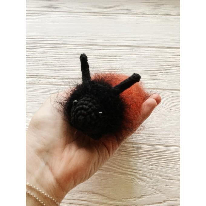 Amigurumi wooly bear caterpillar