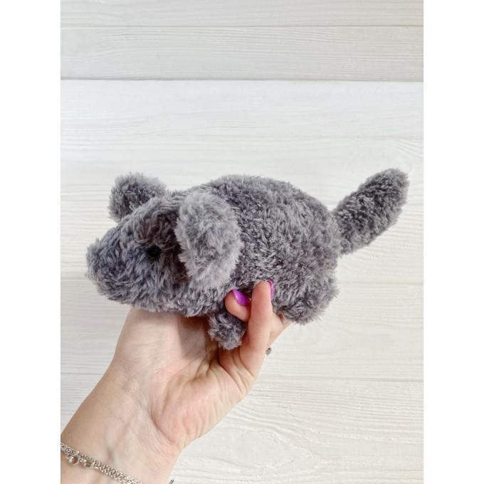 Amigurumi fluffy chinchilla
