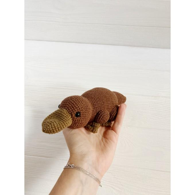 Amigurumi platypus