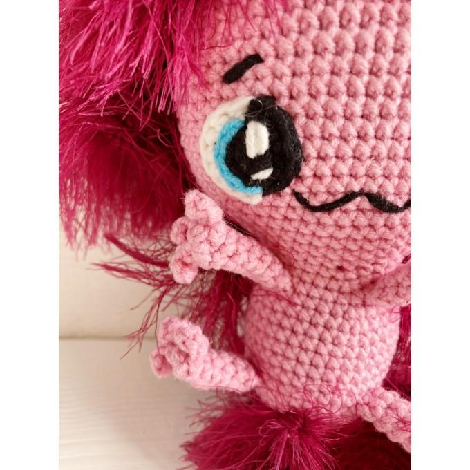 Crochet axolotl