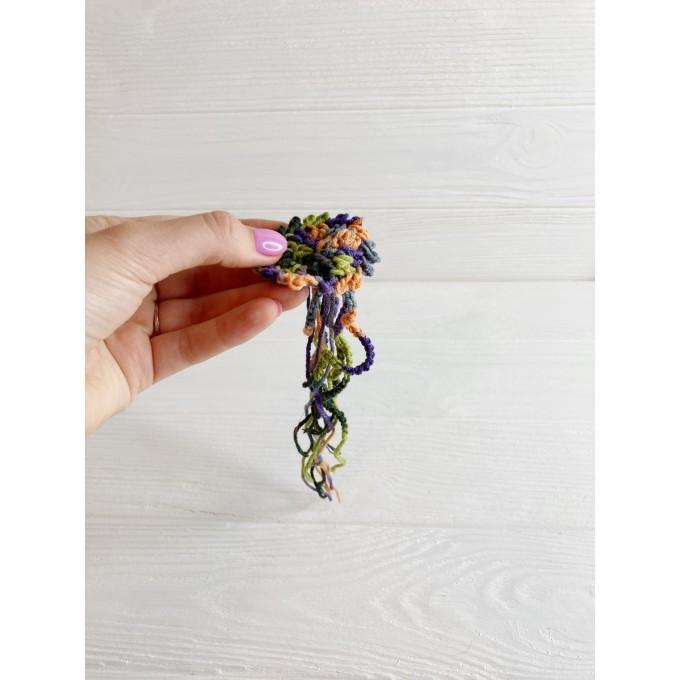 Crochet jelly fish