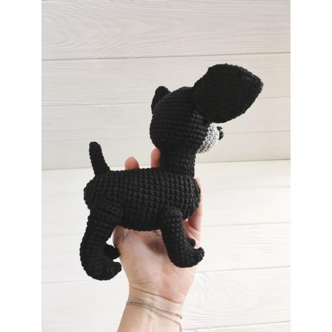 Amigurumi black Chihuahua