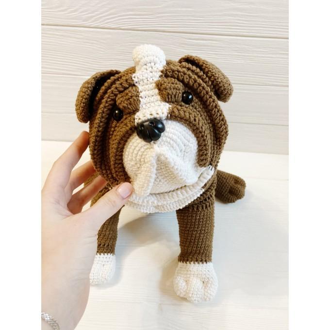 Amigurumi custom bulldog