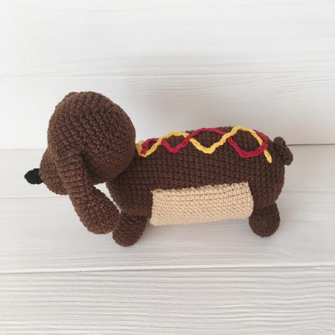Amigurumi hot dog