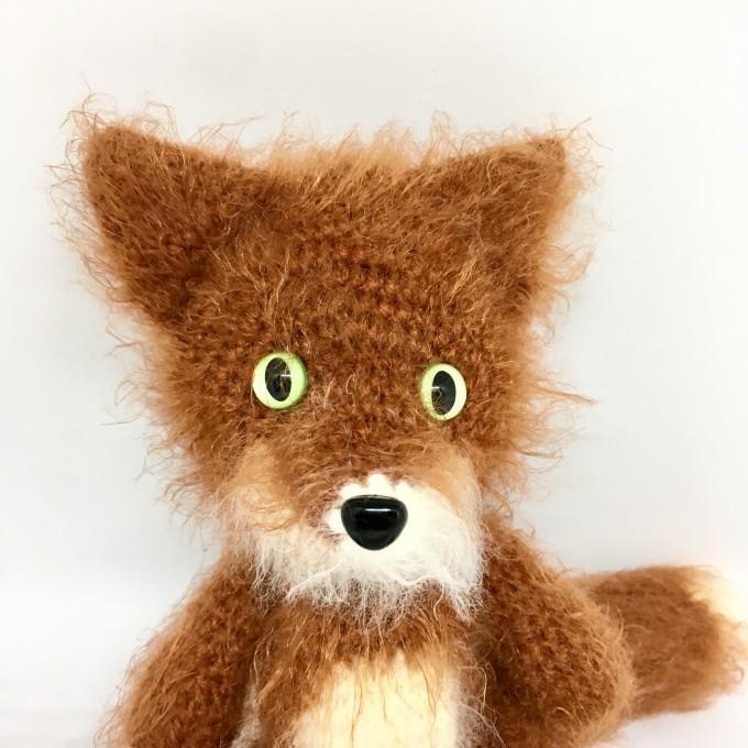 Amigurumi red fox