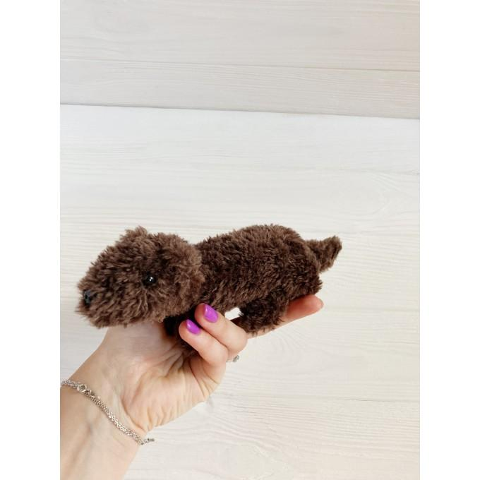 Amigurumi brown ferret