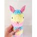 Amigurumi alpaca