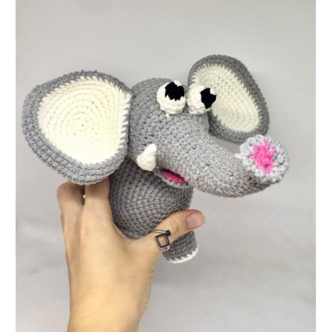 Amigurumi elephant