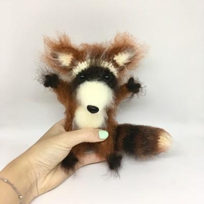 Amigurumi raccoon